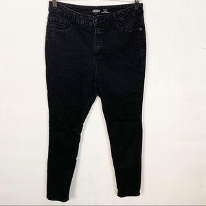 Old Navy l Rockstar Super Skinny Black Jeans